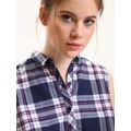 Top Secret Košile dámská kostičkovaná bez rukávu (436058) - 4