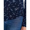 Top Secret Košile dámská tmavě modrá s potiskem a dlouhým rukávem (555555) - 6