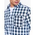 Top Secret Košile pánská kostkovaná s dlouhým rukávem (563046) - 5