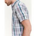 Top Secret Košile pánská bílá s proužkem a krátkým rukávem (463182) - 2