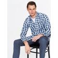 Top Secret Košile pánská kostkovaná s dlouhým rukávem (563046) - 2