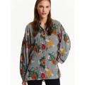 Top Secret Košile dámská s barevnými květy a dlouhým rukávem (508250) - 3