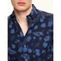Top Secret Košile pánská modrá s krátkým rukávem (443174) - 4
