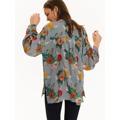 Top Secret Košile dámská s barevnými květy a dlouhým rukávem (508250) - 5
