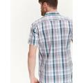 Top Secret Košile pánská bílá s proužkem a krátkým rukávem (463182) - 4