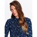 Top Secret Košile dámská tmavě modrá s potiskem a dlouhým rukávem (555555) - 3
